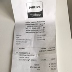 proof of purchase receipt